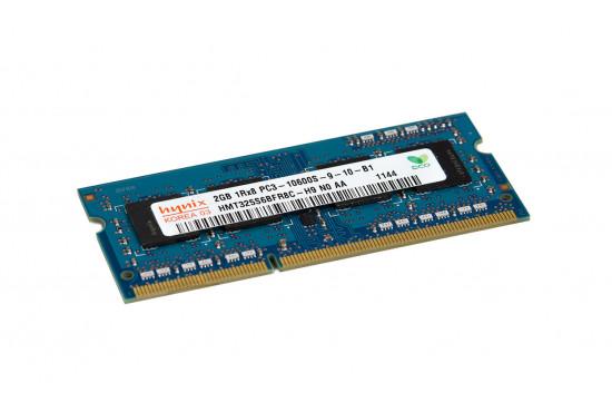 Hynix 2GB DDR3 1333Mhz 1Rx8 PC3-10600S-9-10-B1